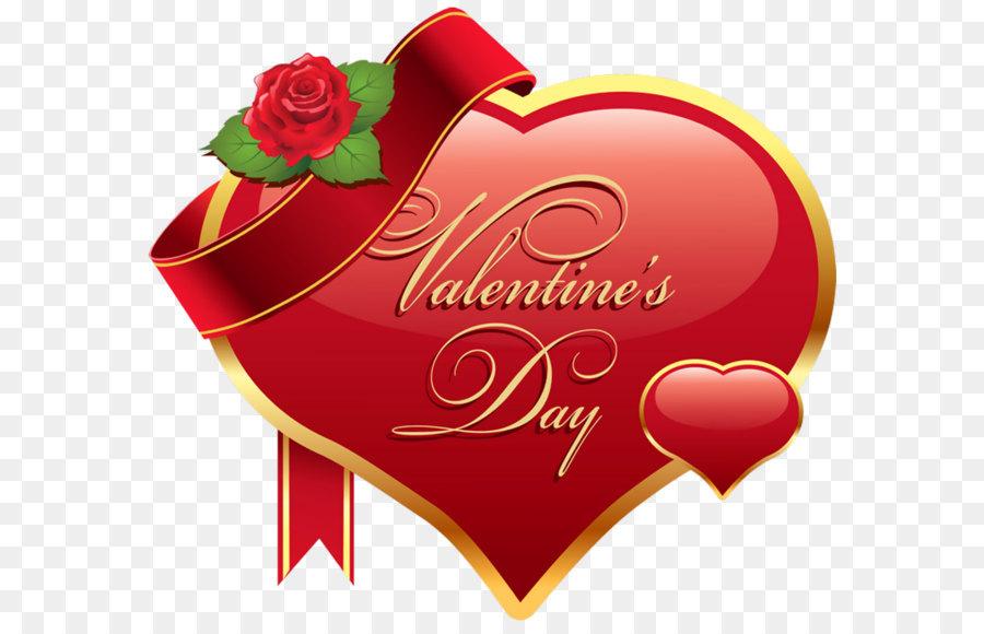 Valentinstag Herz Clip Art Valentinstag Herz Mit Rose Png Clipart