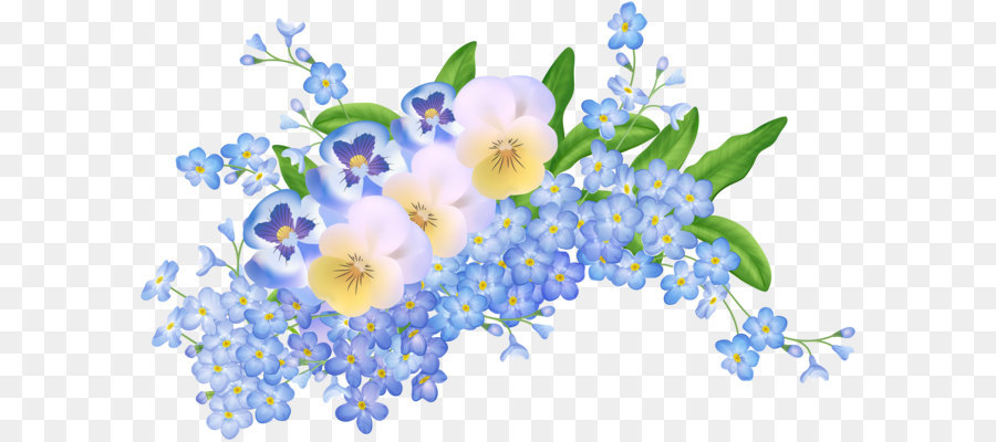 Flower Clip Art Spring Flowers Decoration Transparent