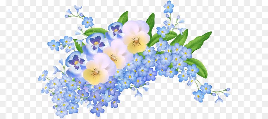 Flower Clip Art Spring Flowers Decoration Transparent Png Clip Art Image  Transprent