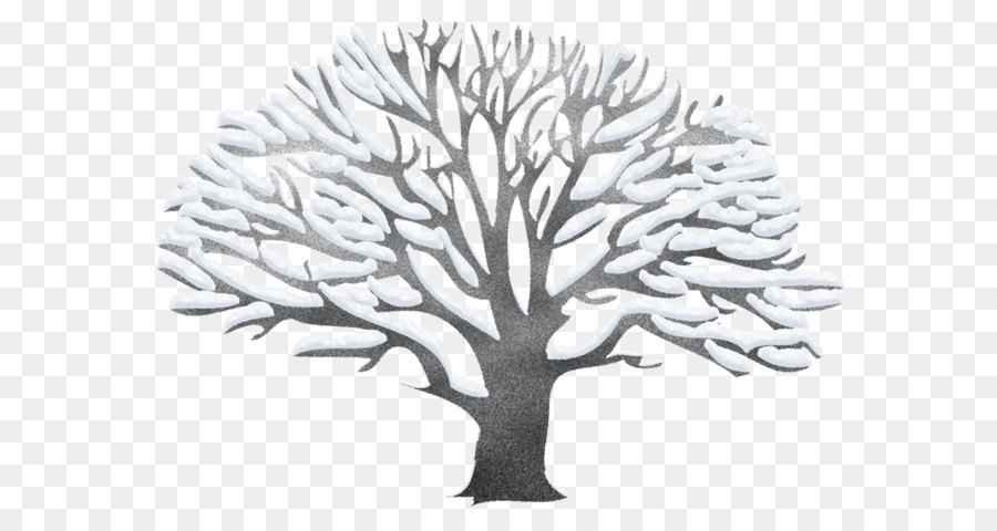 tree clip art winter snowy black tree png picture png