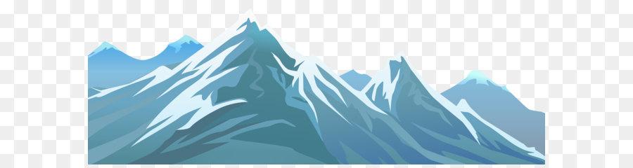 Montagne Clip Art La Montagne Enneigee Transparent Png Image