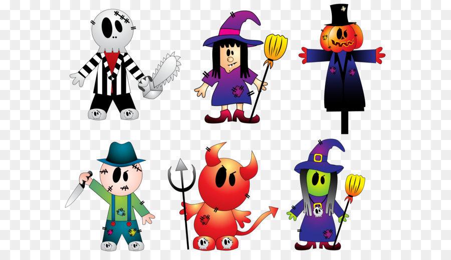 Halloween Clip art - Halloween Espeluznante Colección de Cliparts ...