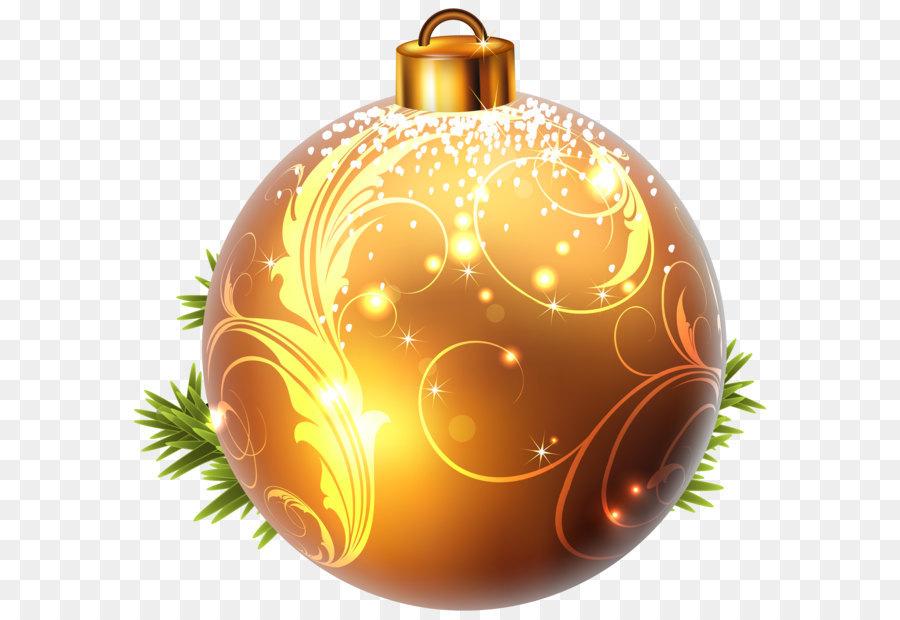 christmas ornament christmas decoration christmas tree clip art yellow christmas ball png clipart image