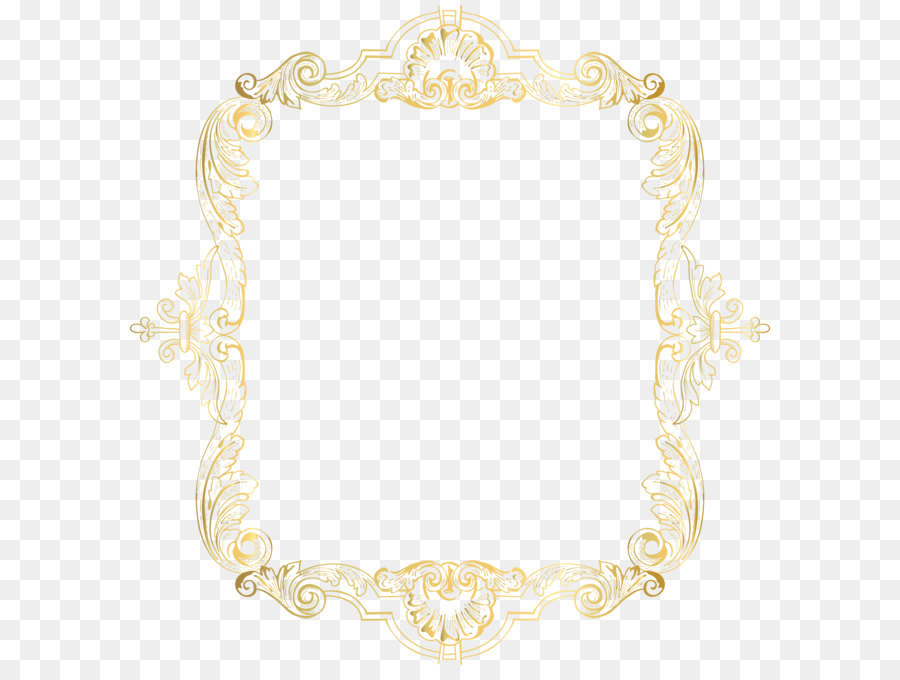 Text Picture frame Yellow Pattern - Vintage Border Frame Gold Clip ...