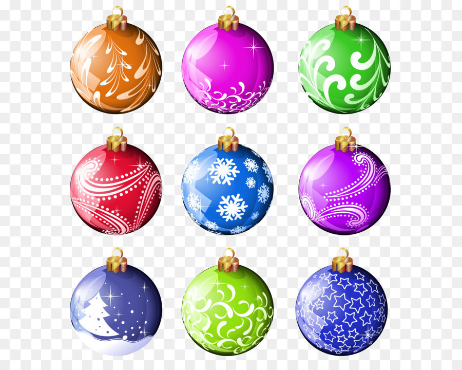 christmas ornament clip art collection christmas balls ornaments png clipart - Christmas Balls Ornaments