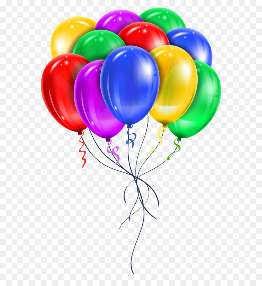 Balloons transparent. Balloon party png download