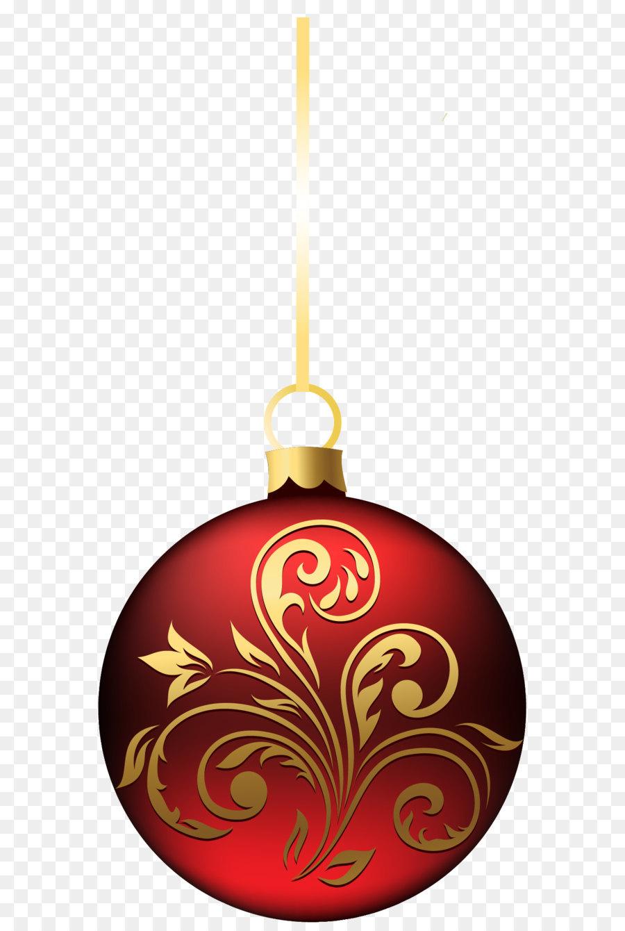 Christmas ornament Christmas decoration Clip art - Large Transparent ...