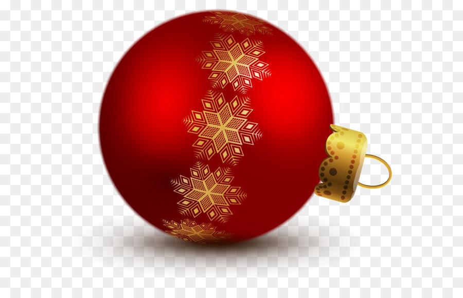 Christmas ornament christmas decoration clip art transparent red