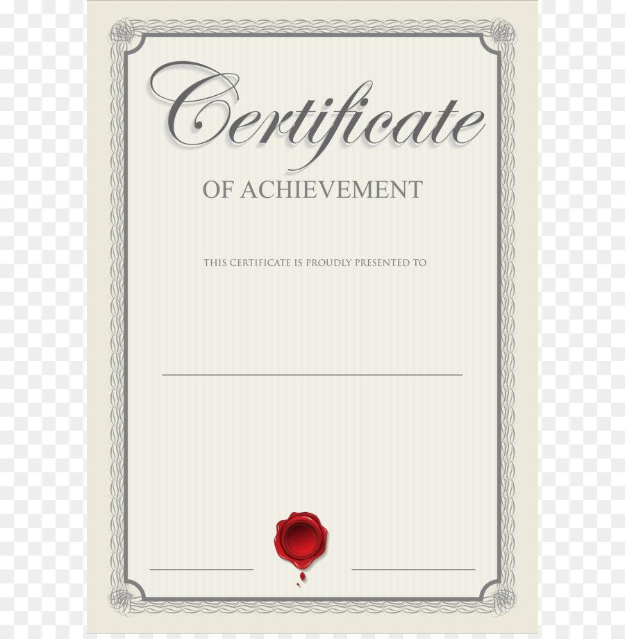 Academic Certificate Template Clip Art Certificate Clip Art Png