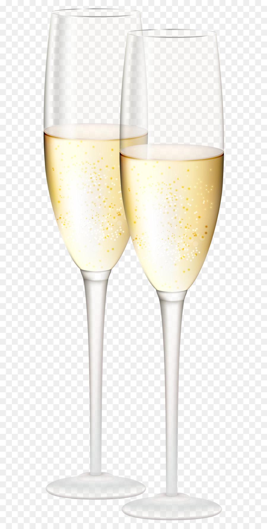 Белое вино, бокал коктейль бокал - Бокалы для шампанского ... Фужер Png