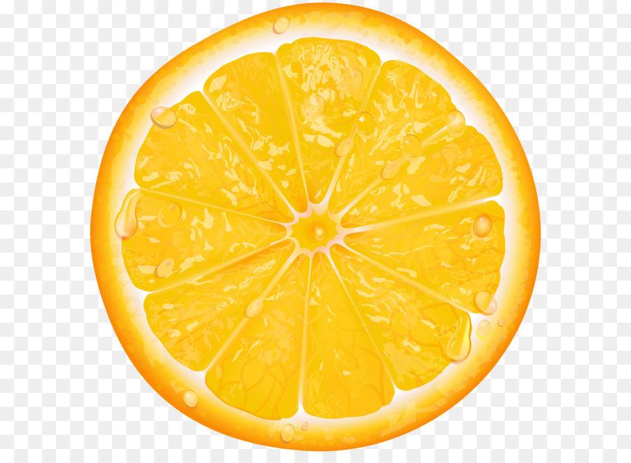 Lemon Orange Slice Clip Art Orange Slice Transparent Png