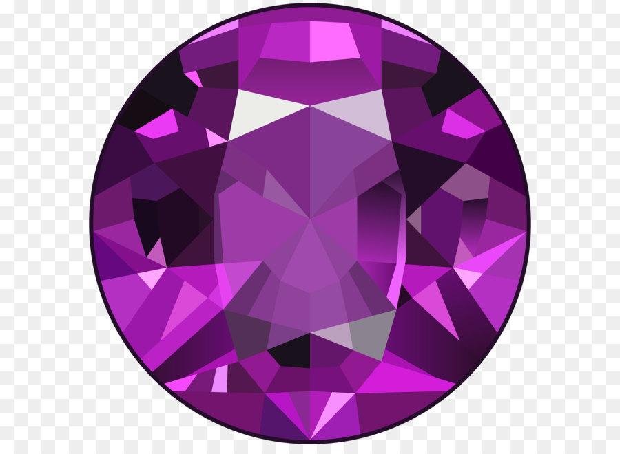 gemstone diamond clip art purple gem png clip art image