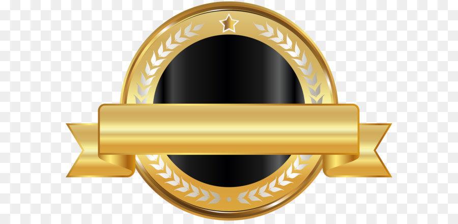 6d45e3e8d74d Information Image resolution Clip art - Seal Badge Gold Black PNG Clip Art  png download - 8000 5363 - Free Transparent Badge png Download.