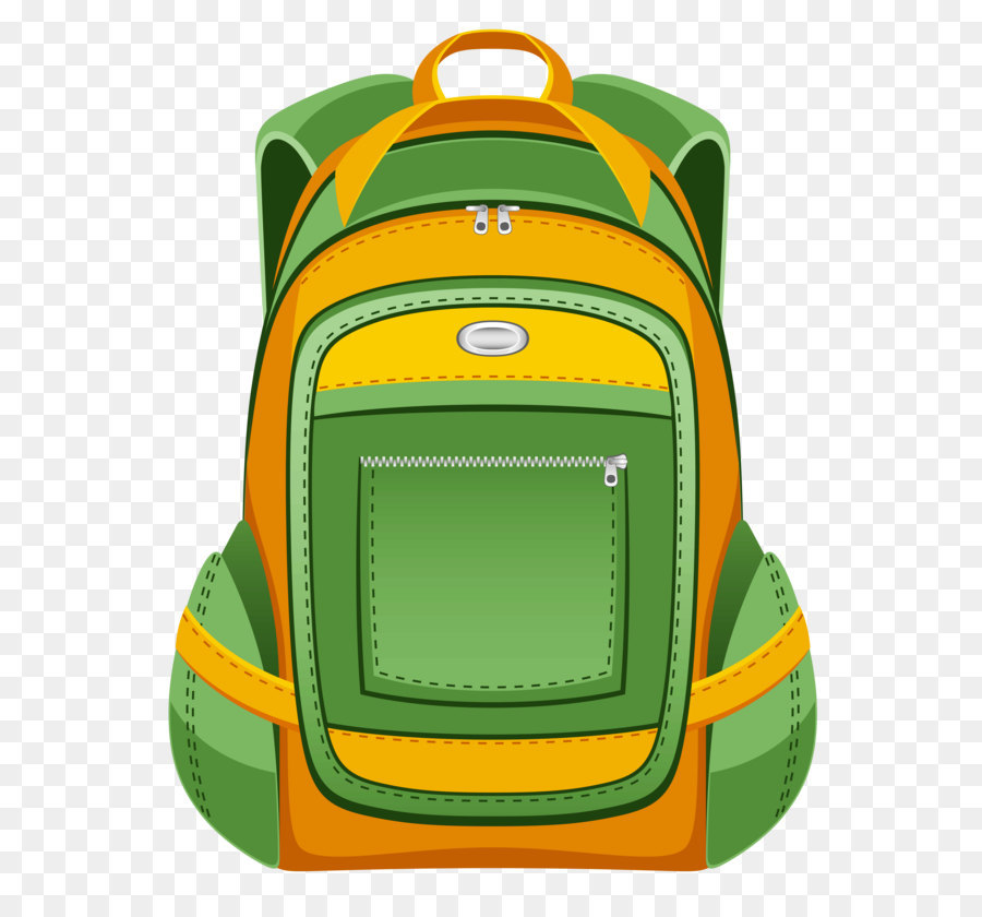 backpack clip art green and yellow backpack png vector clipart png rh kisspng com clipart backpacking backpack clipart png