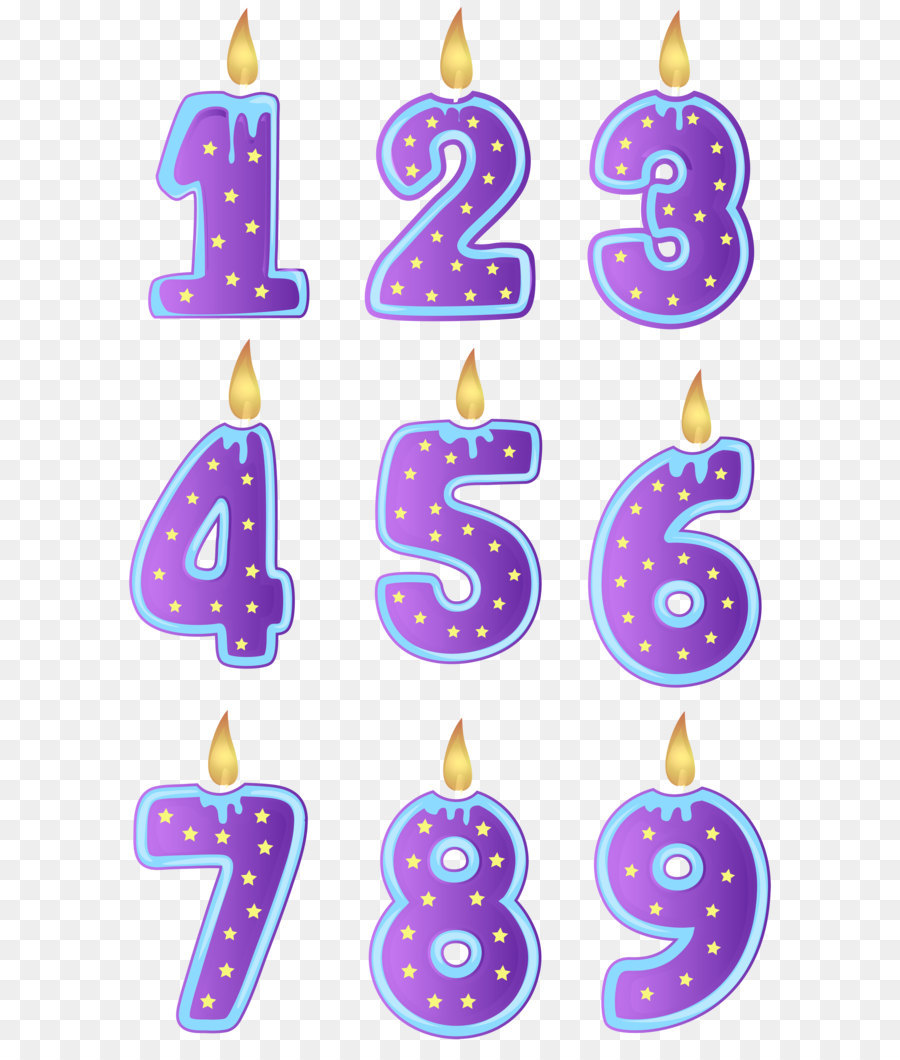 Birthday Candle Clip Art Birthday Candles Transparent Png Clip Art