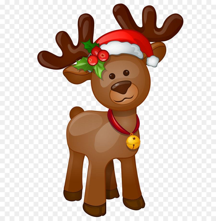 Rudolph, Santa Claus, Weihnachten, Clip art - Rudolph PNG-clipart ...