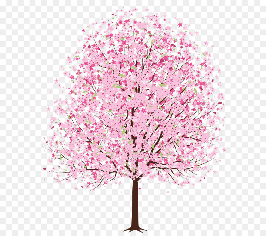 cherry blossom tree clip art pink spring deco tree png clipart png rh kisspng com Cherry Blossom Clip Art Microsoft Hello Kitty Clip Art Cherry Blossoms