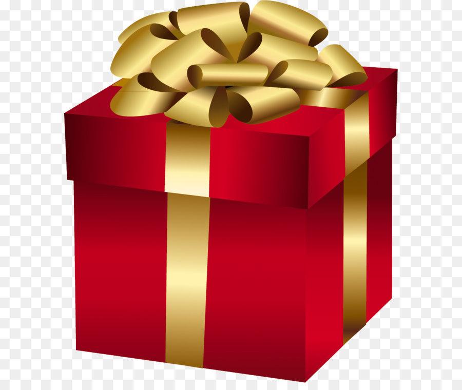 christmas gift christmas day clip art large red gift box with gold bow - Large Christmas Gift Boxes