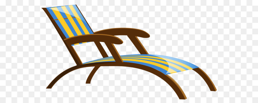 chair chaise longue table clip art transparent beach lounge chair rh kisspng com
