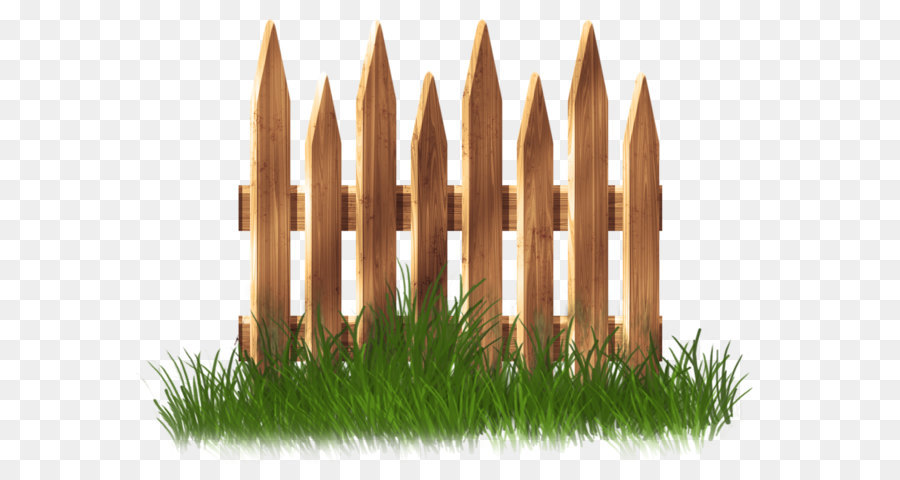 fence garden lawn clip art   transparent wooden garden