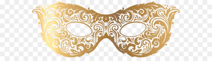 Maske Clipart Gold Karneval Maske Png Clipart Bild Png