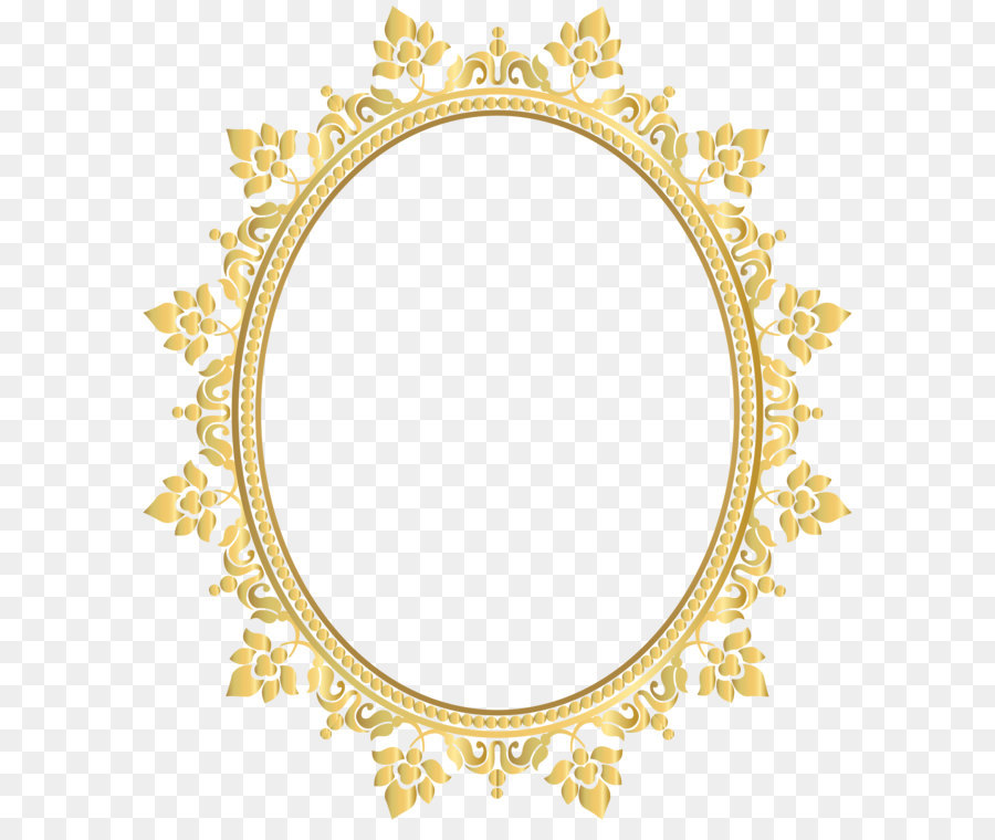 Light Glasses Picture frame Lens - Oval Decorative Border Frame ...