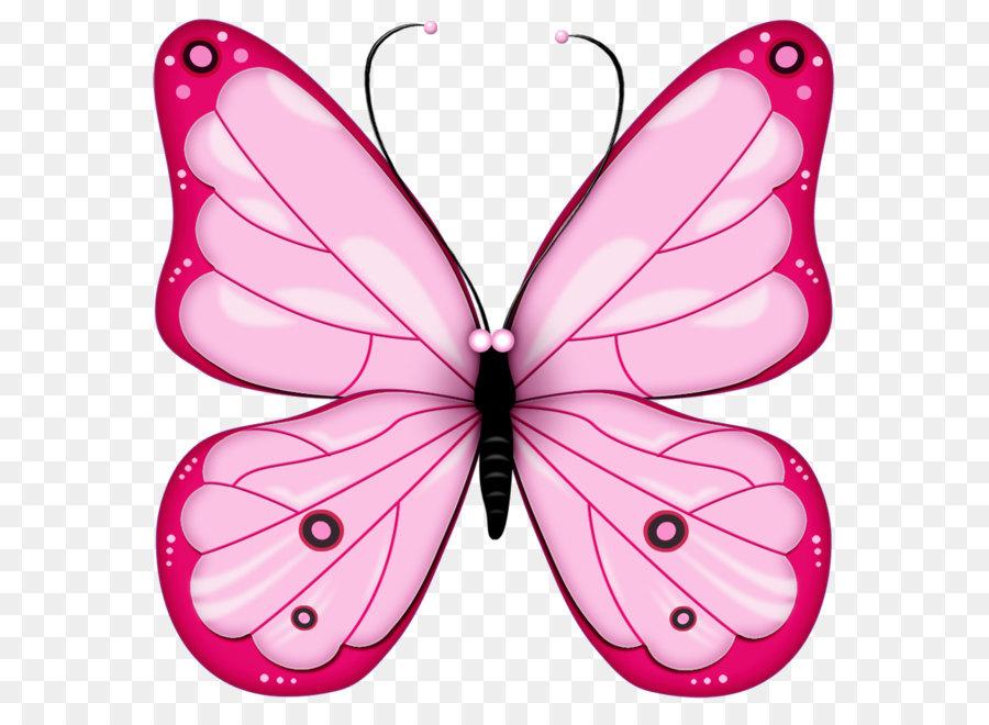 schmetterling clip art  pink transparent schmetterling