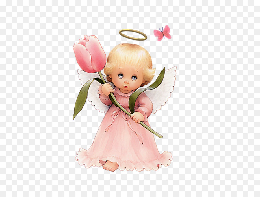 Angel pink. Cartoon png download free