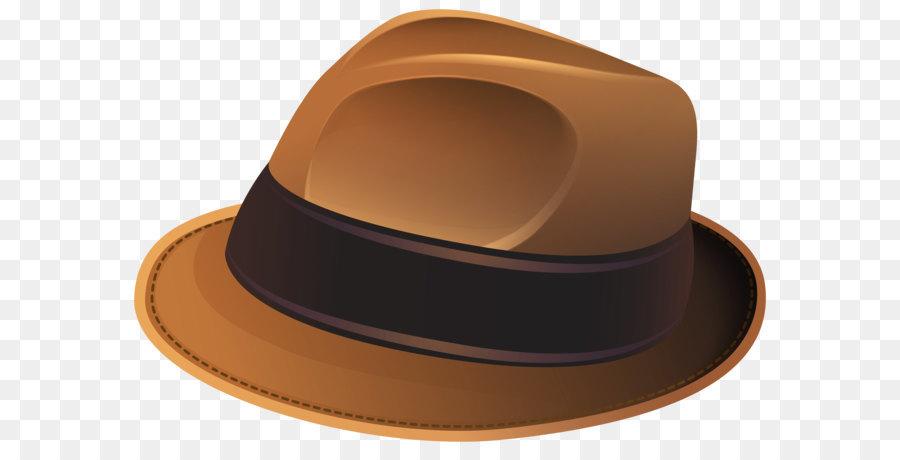 Hat Santa Claus Clip art - Brown Hat Transparent PNG Clip Art Image ... 160666a35ea5