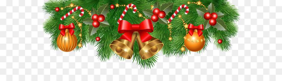 Christmas Decoration Santa Claus Christmas Ornament Clip Art Christmas Border Decoration Png Clipart Image