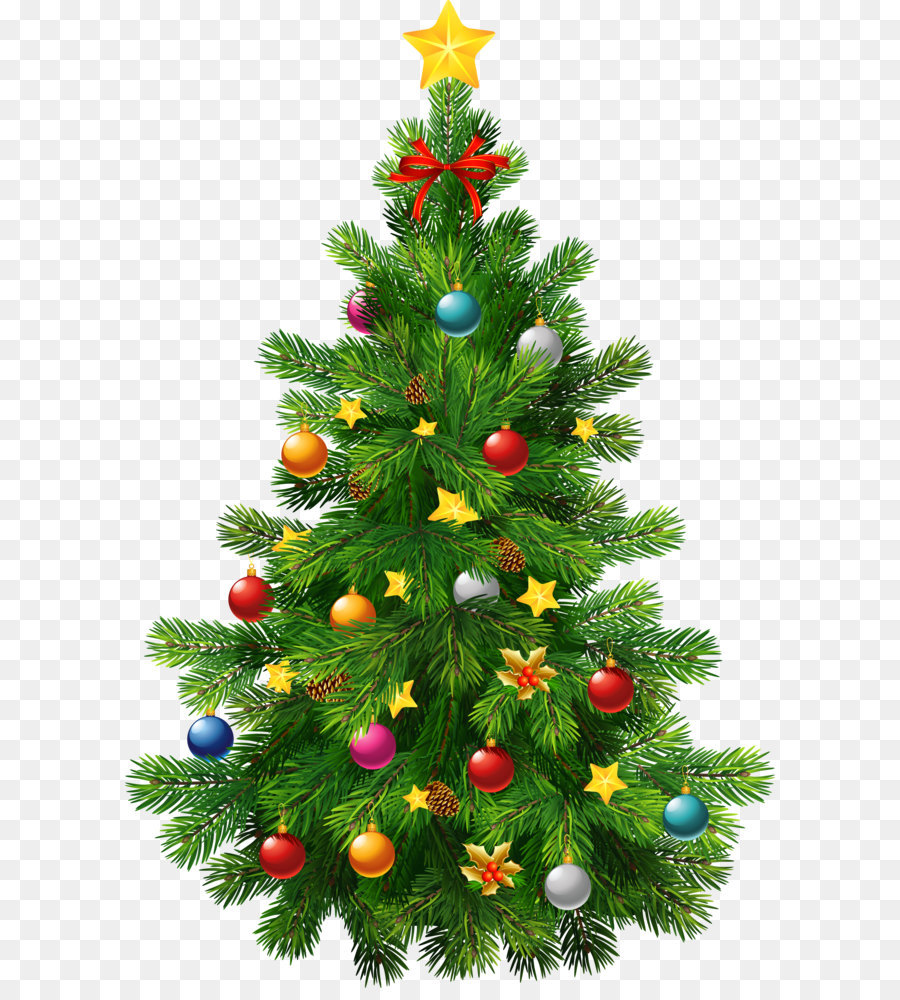 Chistmas Trees: Christmas Tree Christmas Ornament Clip Art
