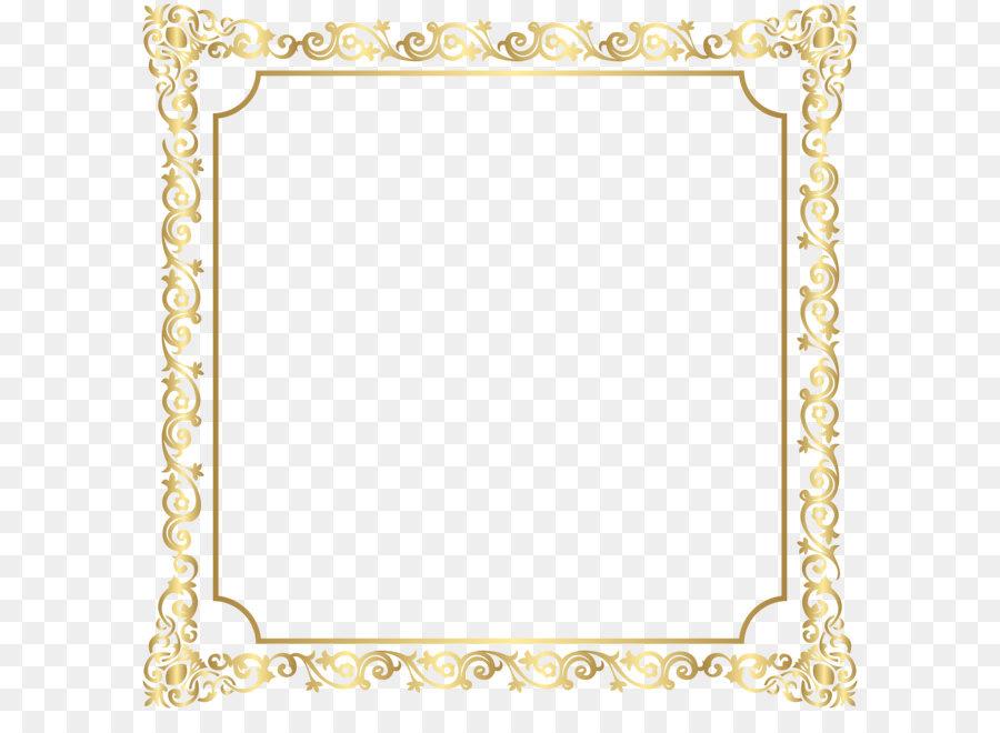 Picture frame Clip art - Border Deco Frame Clip Art PNG Image ...