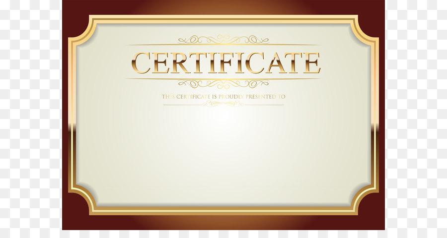 Clip Art Certificate Template Png Clip Art Png Download 8000