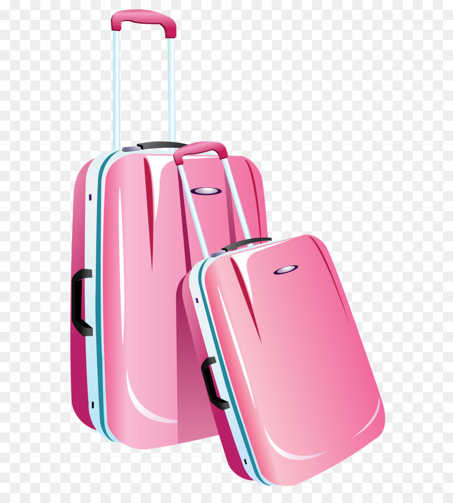 Hand Luggage Bag Brand Pink Travel Bags Png Clipart Image Png