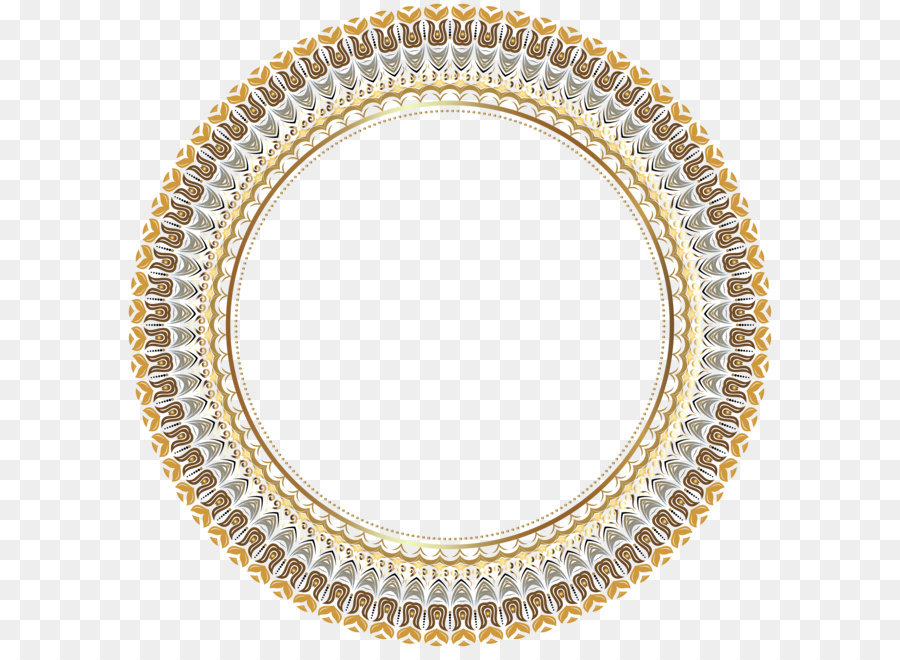 circle picture frame round border frame transparent png