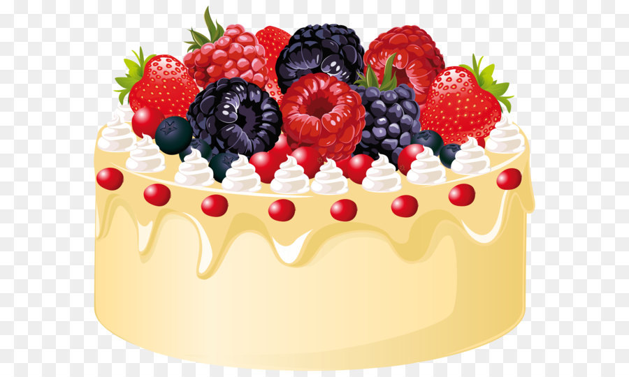 Fruitcake Wedding Cake Birthday Cake Clip Art Fruit Cake With