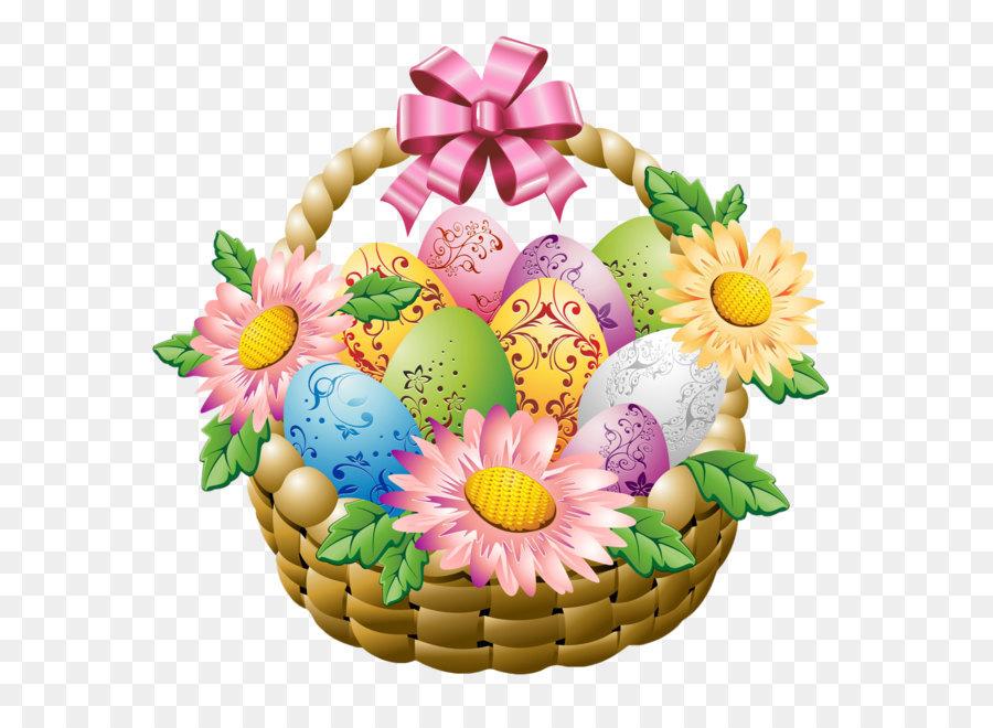 Egg in the basket easter egg easter basket with easter eggs and egg in the basket easter egg easter basket with easter eggs and flowers png picture negle Images