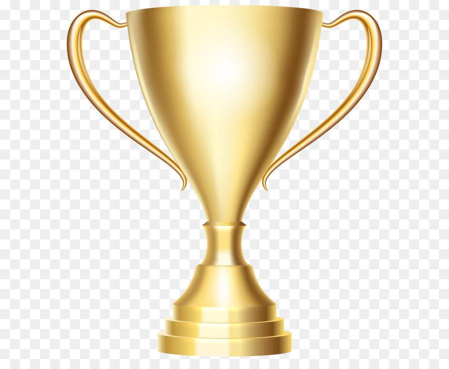 Trophy Gold Medal Clip Art