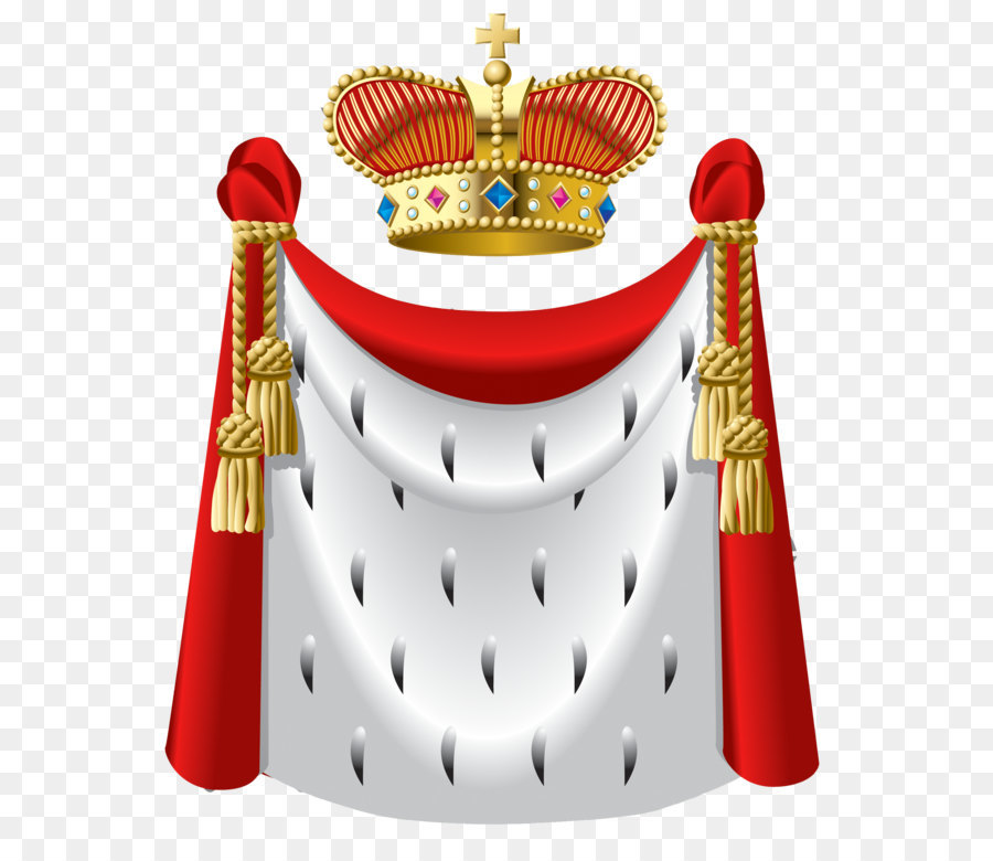 Robe Crown King Clip Art