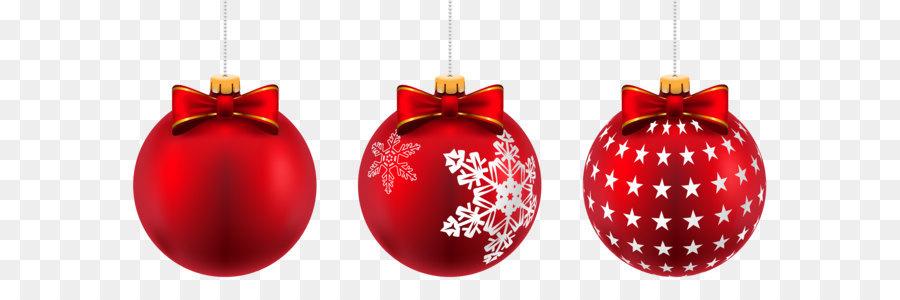 christmas ornament christmas day clip art beautiful red christmas balls png clip art image - Red Christmas Balls