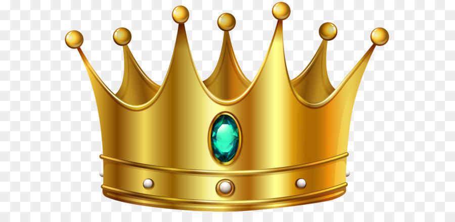 Gold Crown Clip Art Gold Crown With Diamond Png Clip Art Image Png
