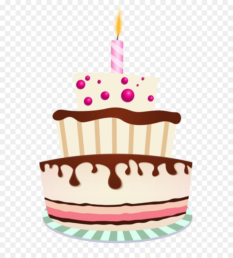 Birthday Cake Chocolate Cake Clip Art Birthday Cake With One