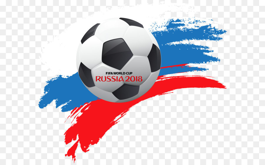 world cup russia 2018 with soccer ball png clip art 8000