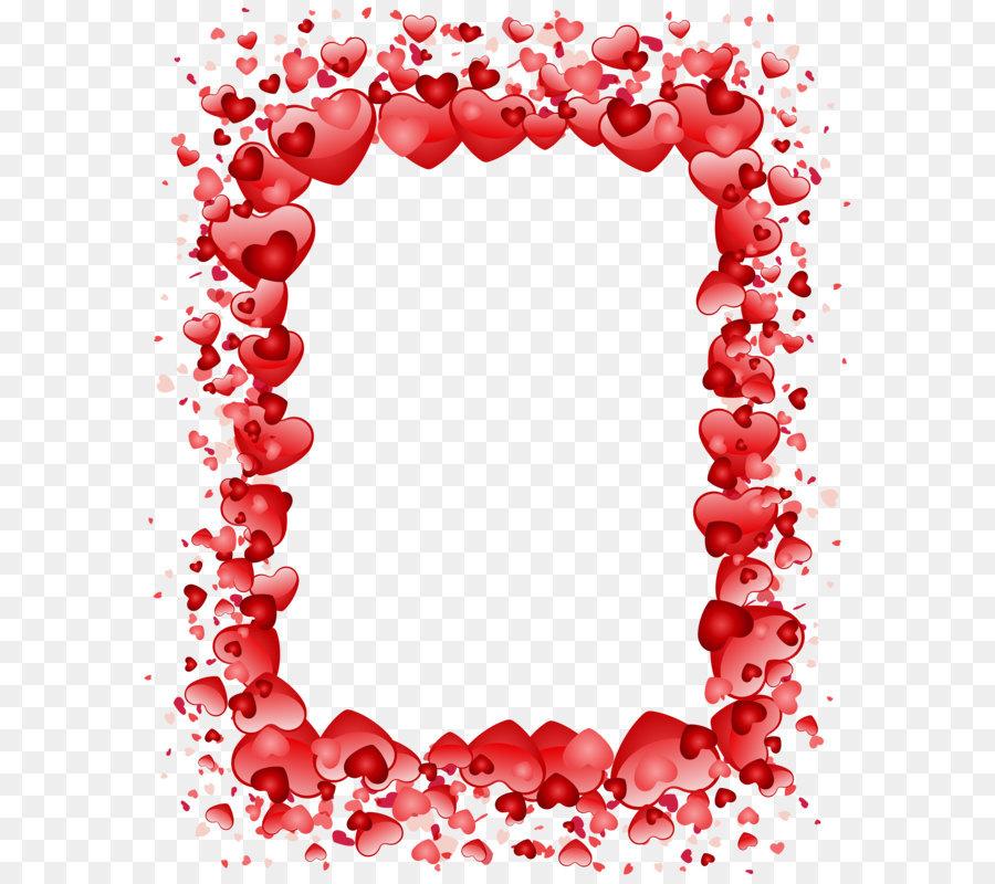 valentine s day heart clip art valentine s day hearts border