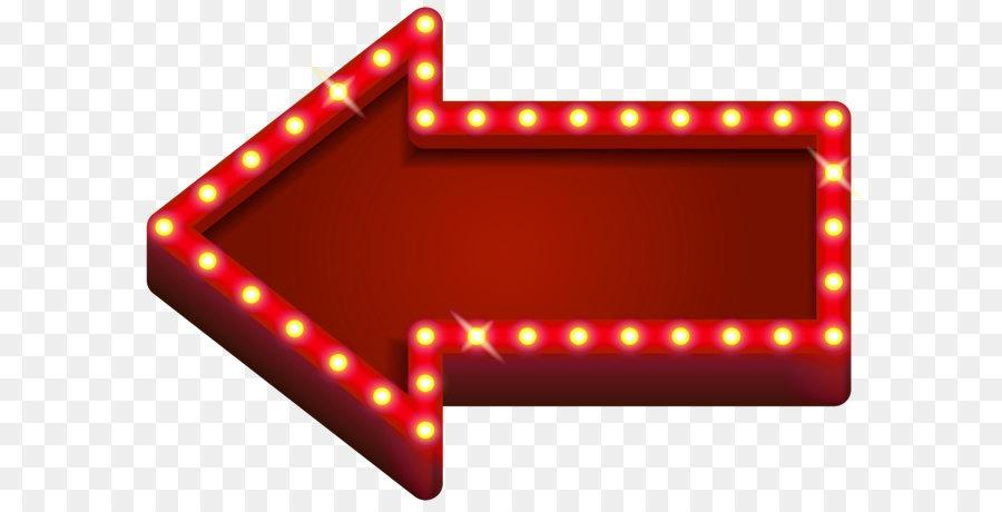 Good Light Neon Arrow Clip Art   Red Neon Arrow Transparent PNG Clip Art Awesome Ideas