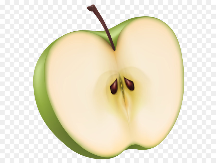Apple half. Background png download free