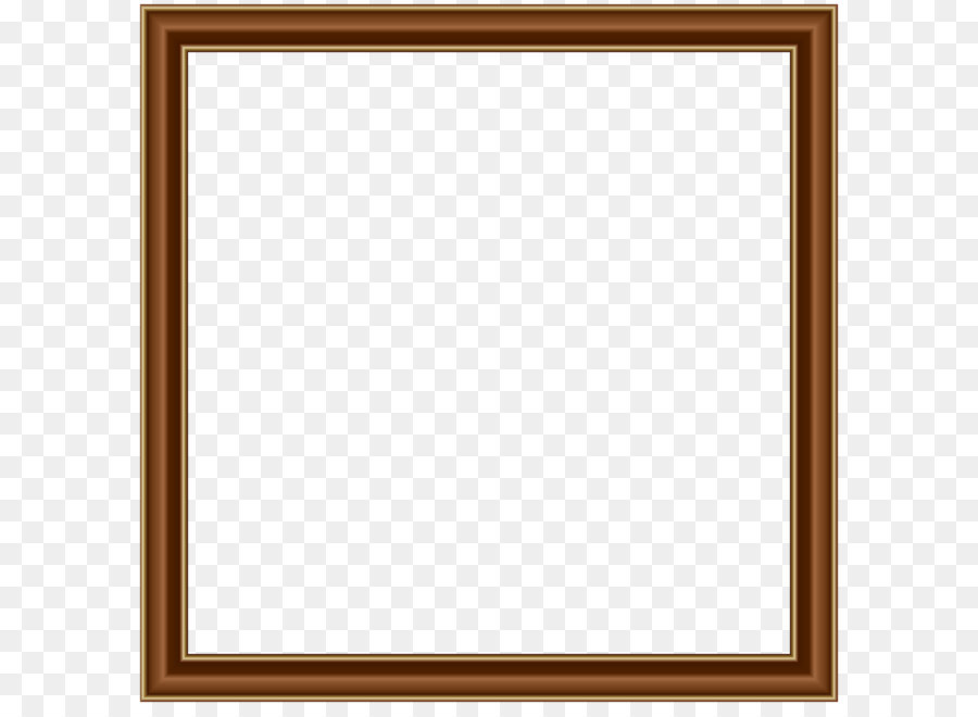 Square Picture Frame Area Board Game Pattern Brown Gold Border