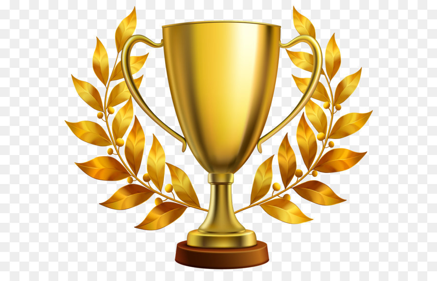 trophy cup clip art gold cup with laurel leaves png clipart image rh kisspng com trophy clipart images free clipart trophy