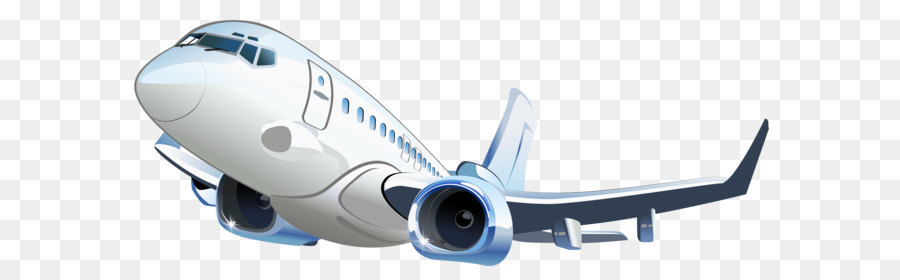 Airplane Clip art - Airplane Transparent Vector Clipart ...