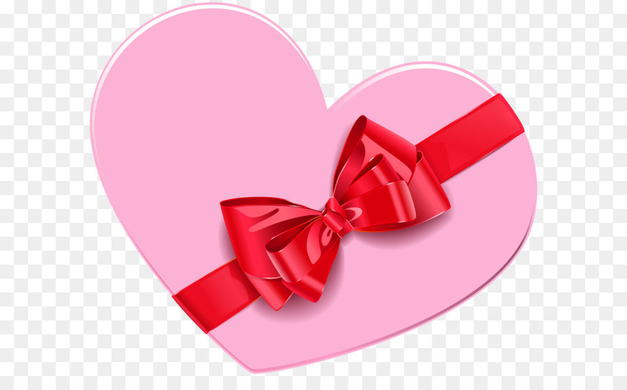 Gift Box Heart Clip Art